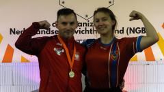 Mistrzostwa Holandii w podnoszeniu ciężarów. Złoty medal dla Polski.