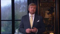 Orędzie Króla Willema-Alexandra.