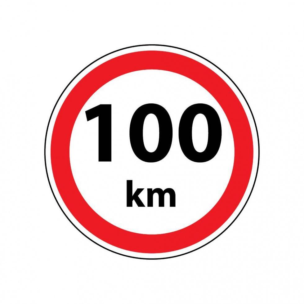 Maksymalnie 100km na autostradach w całej Holandii.