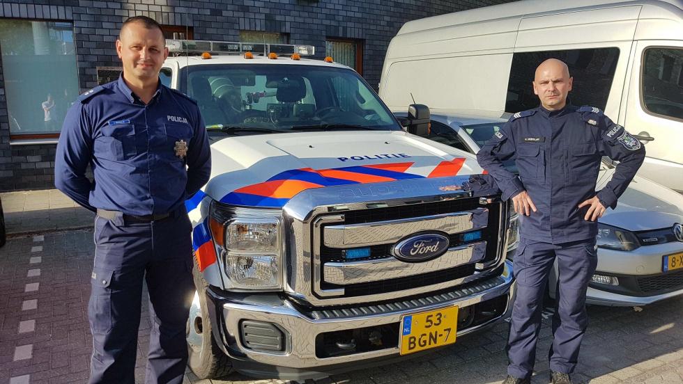 Polska policja w Holandii