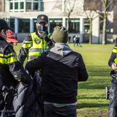 Zamieszki w Amsterdamie.